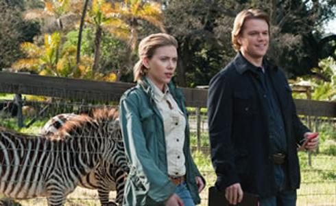 Scarlett Johansson, Matt Damon, zebras